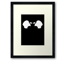 Apple Alien Shirt Framed Print