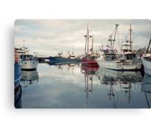 Winter—Victoria Dock, Hobart Canvas Print