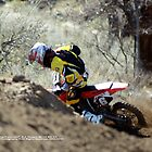 """Catch Me ... If you can""!  Honda Rider, A.J. Hedger #6, I-5 MX, Gorman, CA USA  by leih2008"