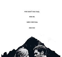 "TVD - Klaroline ""Fall for you..."" by D. Abdel."