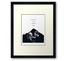 "TVD - Klaroline ""Fall for you..."" Framed Print"