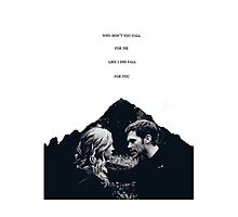 "TVD - Klaroline ""Fall for you..."" Photographic Print"