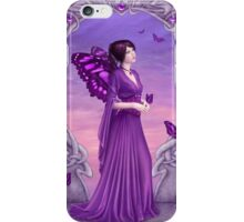 Amethyst Birthstone Fairy iPhone Case/Skin