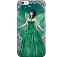 Emerald Birthstone Fairy iPhone Case/Skin