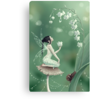Lily of the Valley Flower Fairy Canvas Print