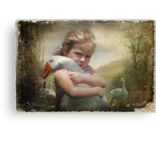 14-Captured Memories-Not the perfect world Canvas Print