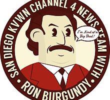 Ron Burgundy by oneskillwonder