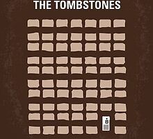 No341 My WALK AMONG THE TOMBSTONES minimal movie poster by Chungkong
