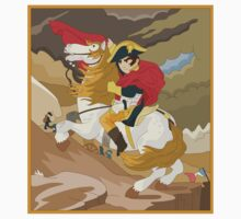 Napoleon Crossing the Alps by  Jacques-Louis David  Kids Clothes