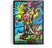 The Fool's Role In The Nothing Universe Metal Print