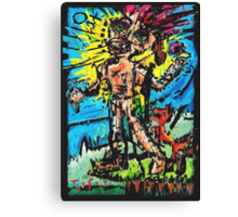 The Fool's Role In The Nothing Universe Canvas Print