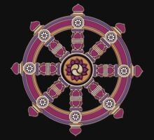 Dharma Wheel of Fortune, Buddhism,  Kids Clothes