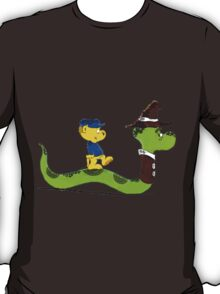 Ferald and Mr.Wiggly T-Shirt