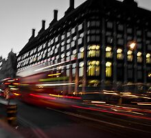 Westminster Lights by Alexandra Vaughan Photography