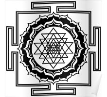 Shri Yantra - Cosmic Conductor of Energy Poster