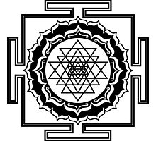 Shri Yantra - Cosmic Conductor of Energy Photographic Print