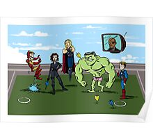 Avengers at Play Poster