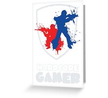 Hardcore Gamer Greeting Card