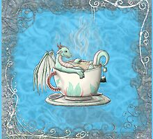 Tea Cup Dragons: Peppermint 2 by MeaKitty