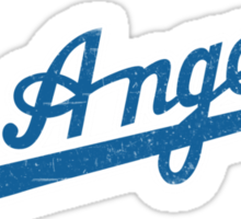 Los Angeles Baseball Logo Sticker