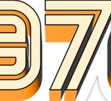 1970 Sticker