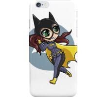 chibi batgirl escapes! iPhone Case/Skin