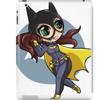 chibi batgirl escapes! iPad Case/Skin
