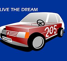 Peugeot 205 soap box  by car2oonz
