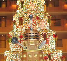 Dalek Christmas by bplavin