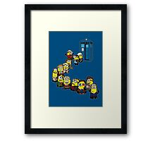 Trouble in Time and Space Framed Print