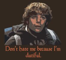 Don't Hate Dutiful Samwise by PickfairCreativ