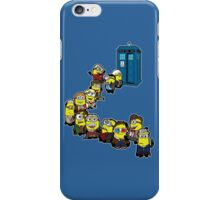 Trouble in Time and Space iPhone Case/Skin