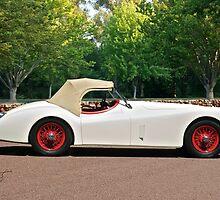 Vintage Jaguar XK120 Roadster by DaveKoontz