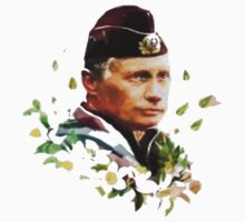 Vladimir Putin - Flowers by LandoDesign