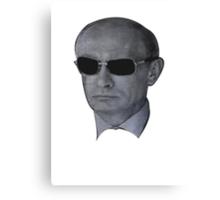 Vladimir Putin - Shades Canvas Print