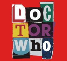 Doctor Who Collage Kids Clothes
