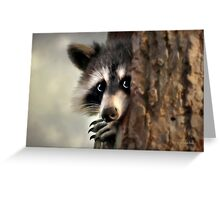 Conspicuous Bandit Greeting Card