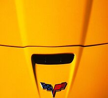 Little Yellow Corvette Case by Ron Hannah
