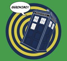 Tardis Geronimo (Comics) Kids Clothes