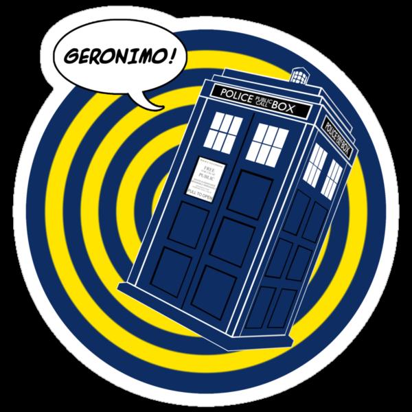 Tardis Geronimo (Comics) by ixrid