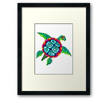 Beautifurtle Framed Print
