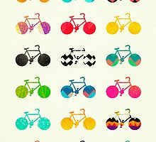 Bicycles by Elisabeth Fredriksson