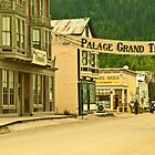 Queen Street in Dawson City by Yukondick