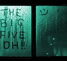 The Big Five Oh !! (green) by grant-ham-cards