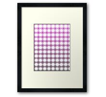 Fade to Purple Framed Print