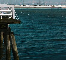 Pier and Boats by PatiDesigns