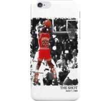 The Shot iPhone Case/Skin
