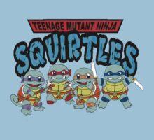 Teenage Mutant Ninja Squirtles by Chasingbart