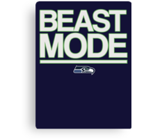 Beast Mode Canvas Print