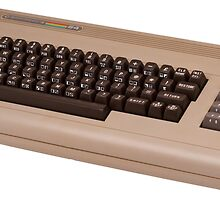 Commodore 64 - C64 - Vintage Home Computer - 8 Bit Classic by verypeculiar